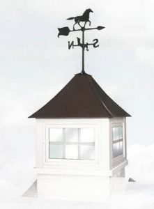 weather vane cupola numark buildings