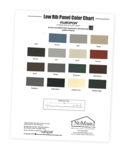 custom building color chart