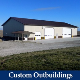 custom outbuilding construction numark pella iowa