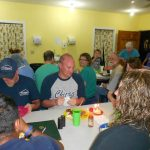 numark team joins for dinner in Honduras