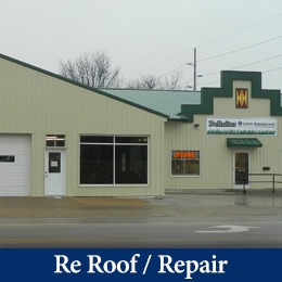 re-roofing projects numark pella